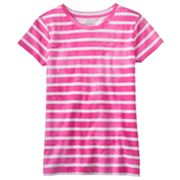 SO Striped Acid Wash Tee - Girls 7-16