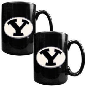 BYU Cougars  2-pc. Ceramic Mug Set