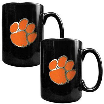 Clemson Tigers 2-pc. Ceramic Mug Set