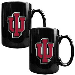 Indiana Hoosiers 2-pc. Ceramic Mug Set