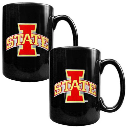 Iowa State Cyclones 2-pc. Ceramic Mug Set