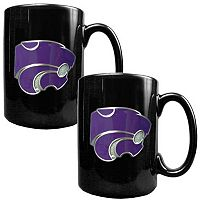 Kansas State Wildcats 2-pc. Ceramic Mug Set