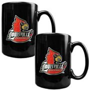 Louisville Cardinals 2-pc. Ceramic Mug Set