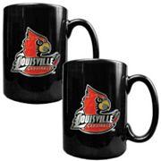 Louisville Cardinals 2 pc Ceramic Mug Set