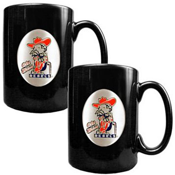 Ole Miss Rebels 2-pc. Ceramic Mug Set