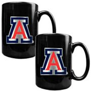 Arizona Wildcats 2-pc. Ceramic Mug Set