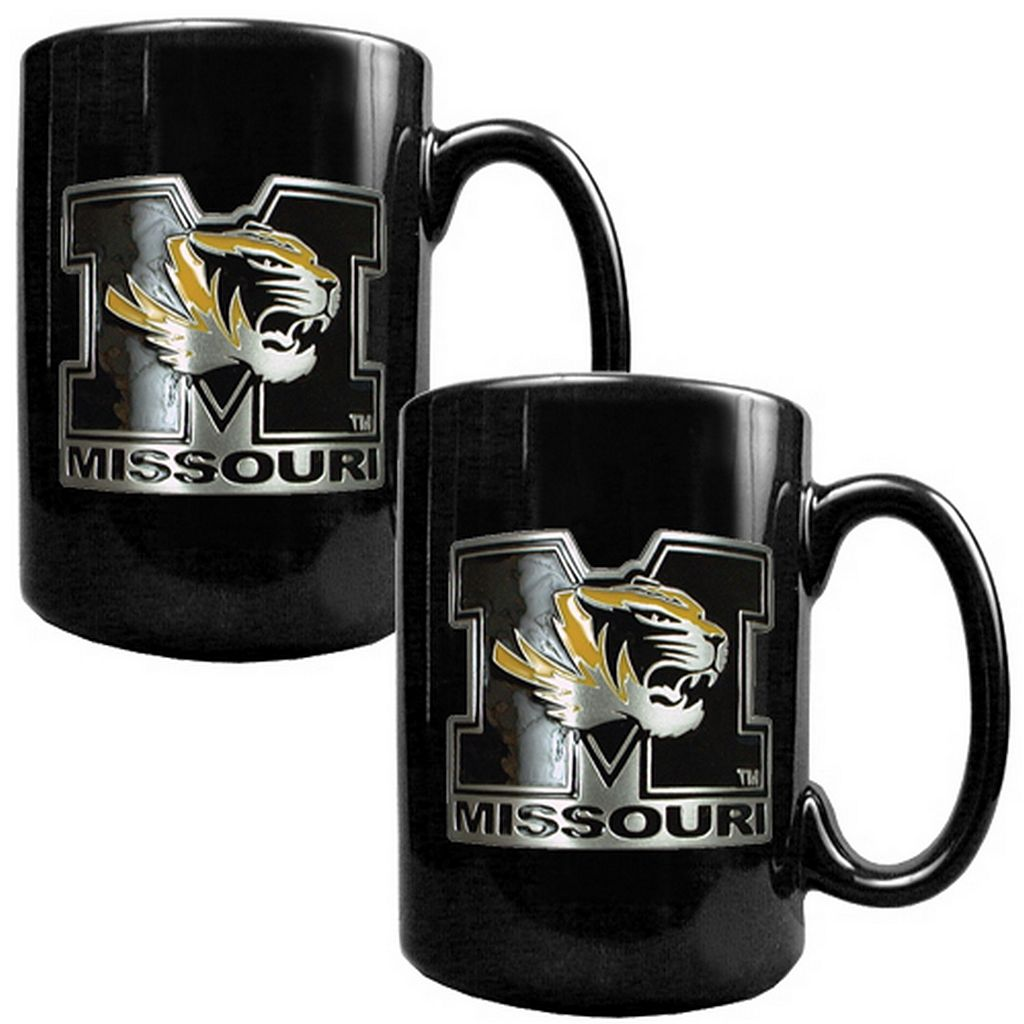 Missouri Tigers 2-pc. Ceramic Mug Set