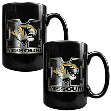 Missouri Tigers 2-pc. Ceramic Mug Set