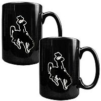 Wyoming Cowboys 2-pc. Ceramic Mug Set