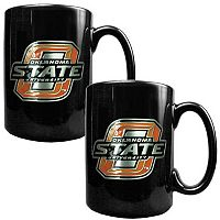 Oklahoma State Cowboys 2 pc Ceramic Mug Set