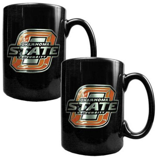 Oklahoma State Cowboys 2-pc. Ceramic Mug Set