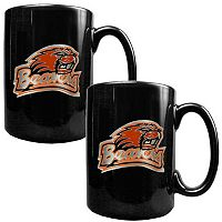 Oregon State Beavers 2-pc. Ceramic Mug Set
