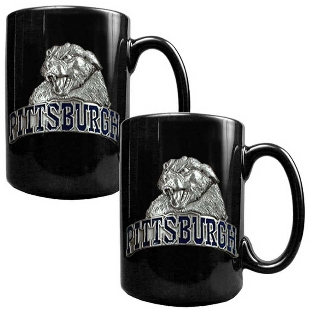 Pittsburgh Panthers 2-pc. Ceramic Mug Set