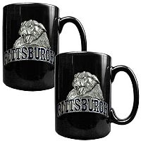 Pittsburgh Panthers 2 pc Ceramic Mug Set