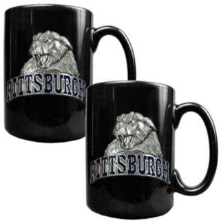 Pittsburgh Panthers 2-pc. Ceramic Mug Set