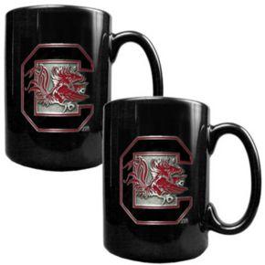 South Carolina Gamecocks 2-pc. Ceramic Mug Set