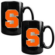 Syracuse Orange 2 pc Ceramic Mug Set