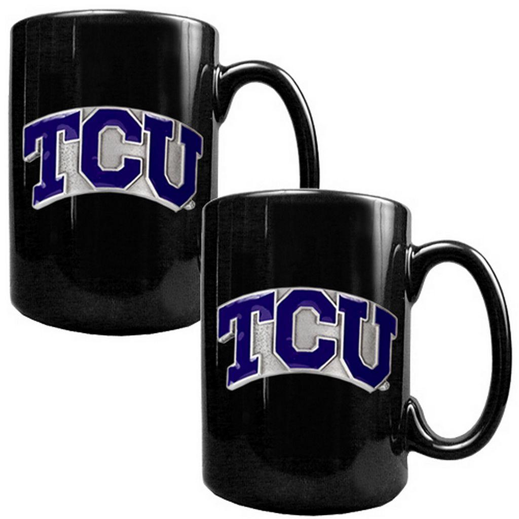 TCU Horned Frogs 2-pc. Ceramic Mug Set