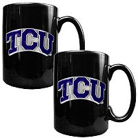 TCU Horned Frogs 2-pc. Ceramic Mug Set