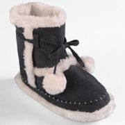 Journee Collection Mimimax Slipper Boots - Girls