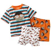 Jumping Beans Monkey Pajama Set - Toddler