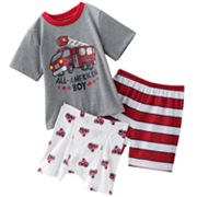 Jumping Beans Fire Truck Pajama Set - Toddler