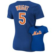 Majestic New York Mets David Wright Tee - Women
