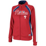 Majestic Philadelphia Phillies Great Play French Terry Track Jacket