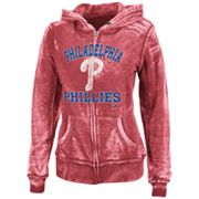 Majestic Philadelphia Phillies Push The Limits Fleece Hoodie - Women