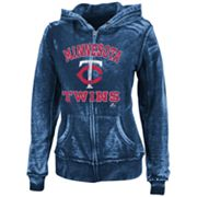 Majestic Minnesota Twins Push The Limits Fleece Hoodie - Women