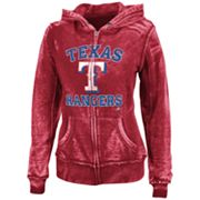 Majestic Texas Rangers Push The Limits Fleece Hoodie - Women