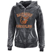 Majestic Baltimore Orioles Push The Limits Fleece Hoodie - Women