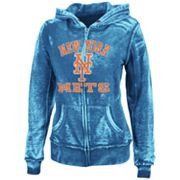 Majestic New York Mets Push The Limits Fleece Hoodie - Women