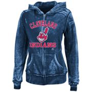 Majestic Cleveland Indians Push The Limits Fleece Hoodie - Women