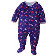 Jumping Beans Bird and Heart Footed Pajamas - Baby