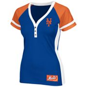 Majestic New York Mets League Diva Colorblock Henley