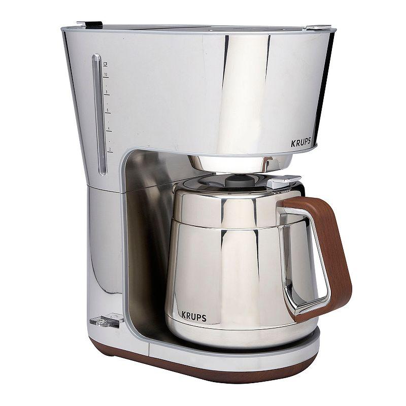 Krups Coffee Maker Kohls : Krups Silver Art Collection 10-Cup Coffee Maker
