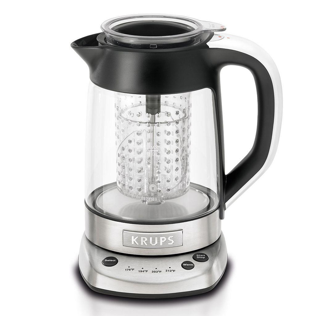 Krups 2-in-1 Electronic Tea Kettle & Water Kettle