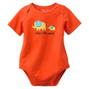 Jumping Beans Daddy's Little Peanut Elephant Bodysuit - Baby