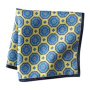 Croft and Barrow Geometric Pocket Square