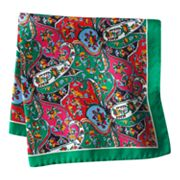 Croft and Barrow Paisley Pocket Square
