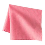 Croft and Barrow Gingham Checked Pocket Square