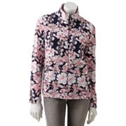 Croft and Barrow Floral Jacket - Petite