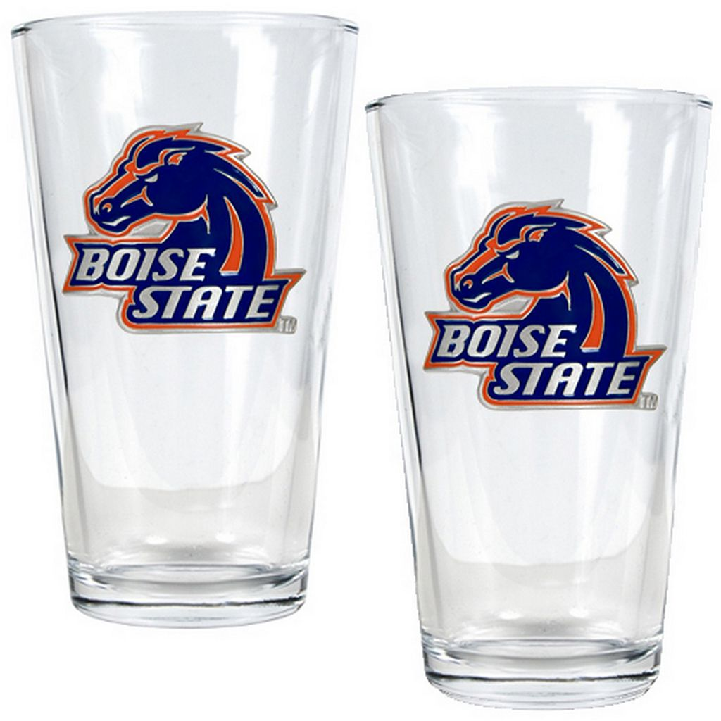 Boise State Broncos 2-pc. Pint Glass Set