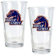 Boise State Broncos 2 pc Pint Glass Set