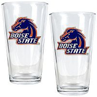 Boise State Broncos 2 pc Pint Glass Set