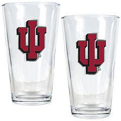 Indiana Hoosiers 2-pc. Pint Glass Set
