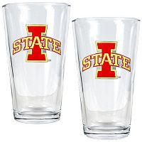 Iowa State Cyclones 2-pc. Pint Glass Set