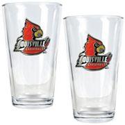 Louisville Cardinals 2 pc Pint Glass Set