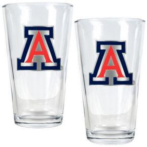 Arizona Wildcats 2-pc. Pint Glass Set